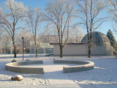 """Die Astronomische Station """"Samuel Heinrich Schwabe"""" in Dessau."""