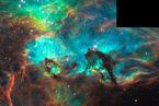 Hubbles Jubiläumsblick auf NGC 2074