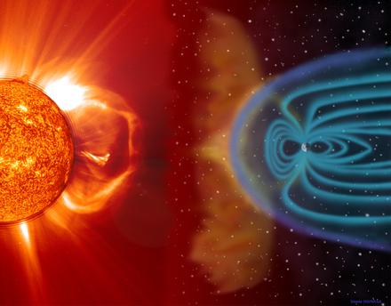 Solar Wind Diagram