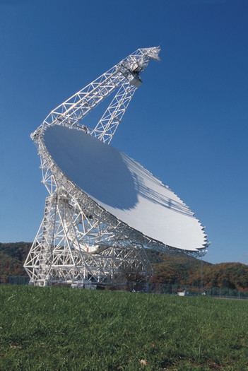 Green Bank Teleskop in West Virginia/USA
