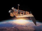 Der 2002 gestartete europäische Umweltsatellit ENVISAT, auf dem SCIAMACHY (Scanning Imaging Absorption Spectrometer for Atmospheric CHartographY) als eines der Hauptinstrumente im Einsatz ist.