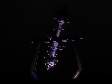 Ein moderner Zeiss-Projektor des Typs ZKP 4 Skymaster ist im sächsischen Lichtenstein in Betrieb.