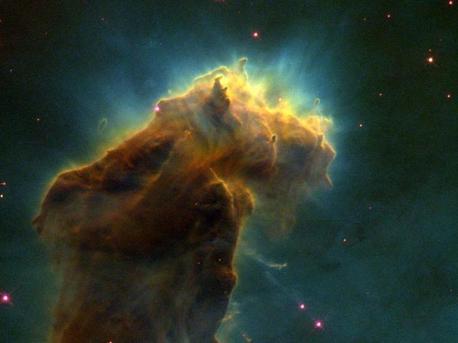 Sternentstehungsgebiet im Adlernebel (M 16)