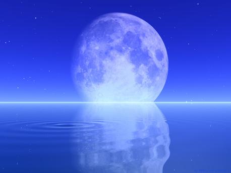 """Wasser auch auf dem bisher als knochentrocken geltenden Mond? Neueste Forschungsergebnisse scheinen darauf hinzudeuten. Wenn auch nur in größerer Menge in Form von Eis in """"Kältefallen"""" an den Mond-Polen."""