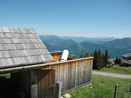 Das 17'' Newton-Teleskop