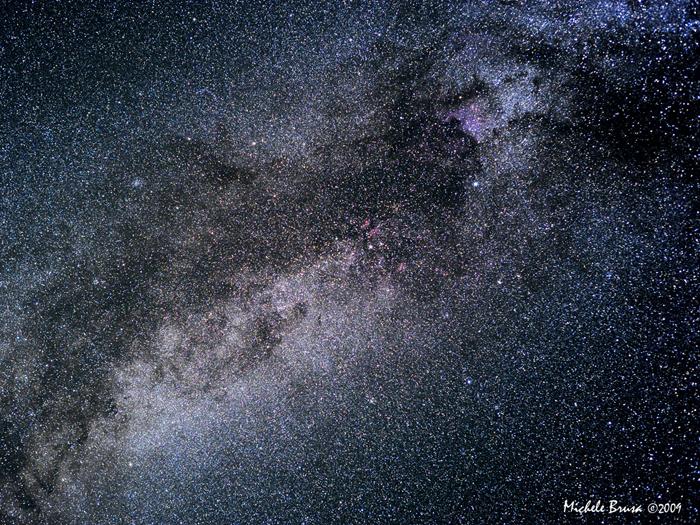 Das Sternenmeer der Milchstraße
