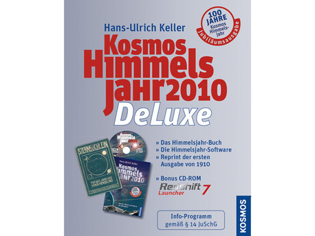 """Das """"Kosmos Himmelsjahr DeLuxe 2010"""" enthält als Geschenk den Reprint des """"Sternbüchlein 1910"""""""