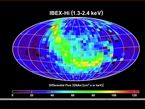 IBEX simultaneously creates 14 maps of the sky at different energies. This animation shows several different maps, revealing an unexpectedly bright ribbon-like emission in each.