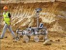 The European Mars Rover in testing