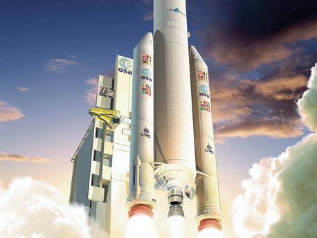 Impresión artística de Ariane 5 ECA