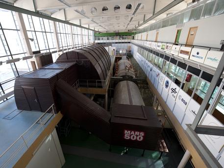 Instalaciones del experimento Mars500 en Moscú.