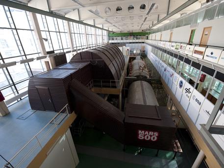Instalaciones de aislamiento del experimento Mars500, Moscú