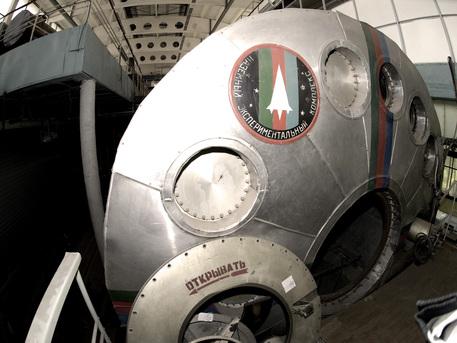 Die Luke zur Mission Mars500 wird am 3. Juni für 520 Tage verschlossen.