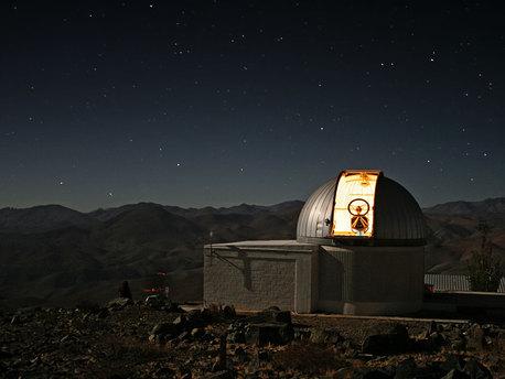 Le télescope TRAPPIST à La Silla