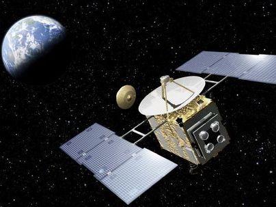 """Die Sonde Hayabusa (""""Wanderfalke"""") auf dem Rückweg – hat sie die erhofften Asteroidenproben an Bord?"""