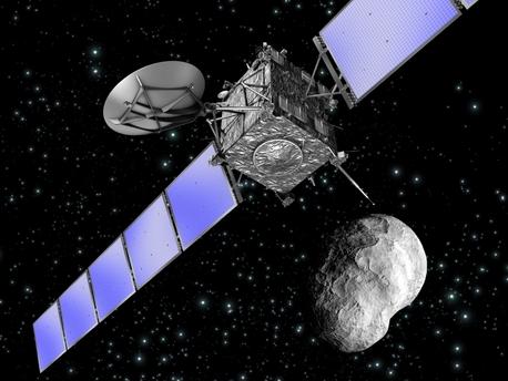Rosetta se acercó al asteroide Steins en 2008