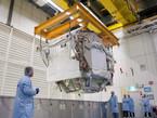 Izado del AMS-02. El AMS-02 buscará evidencias de antimateria y de materia oscura en el Universo