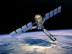 Impresión artística de SMOS en órbita