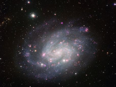 Die Galaxie NGC 300 in der jetzt veröffentlichten Aufnahme der ESO