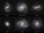 Seis espectaculares galaxias espirales fueron observadas bajo una nueva luz por el Very Large Telescope (VLT) de ESO en el Observatorio Paranal, en la Región de Antofagasta en Chile. Estas imágenes tomadas en luz infrarroja, empleando el enorme poder de la cámara HAWK-I, ayudarán a los astrónomos a entender cómo se forman y evolucionan los bellos patrones espirales de las galaxias.