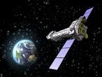 Impresión artística del satélite XMM-Newton.