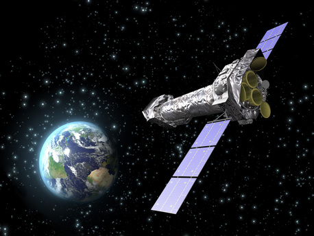 An artist's impression of XMM-Newton