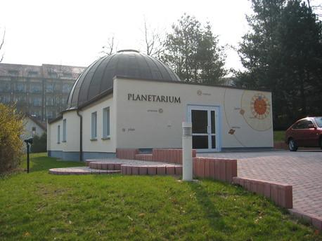Das Planetarium am Burgsee in Bad Salzungen.