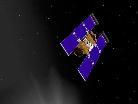 Artist rendering of Stardust-NExT spacecraft