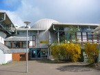 Das Planetarium der Sternwarte Erkrath im Bürgerhaus Hochdahl.