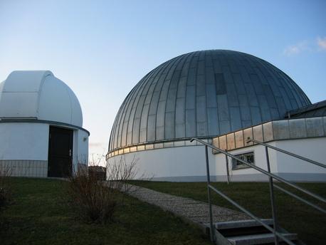 Das Planetarium der Volkssternwarte Drebach.