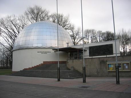 """Das Raumflugplanetarium """"Juri Gagarin"""" in Cottbus."""
