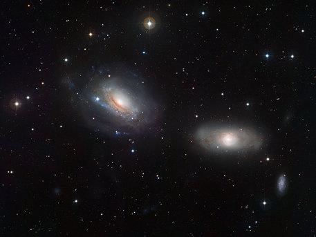 Aufnahme des Wide Field Imager am MPG/ESO 2,2-Meter-Teleskop am La Silla Observatorium in Chile