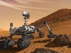 """Der Marsrover """"Curiosity"""" soll auf dem roten Planeten nach Spuren von Leben suchen"""