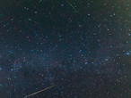 Jeden August durchquert die Erde den Meteorstrom der Perseiden.