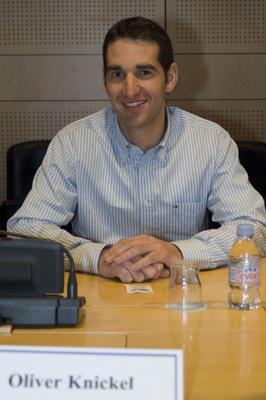 Oliver Knickel (28), Maschinenbauer aus Hamburg