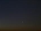 Venus & Mars bei den Plejaden