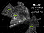 This animation shows conceptually the way LRO's LOLA instrument works.
