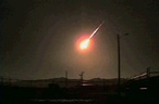 A meteor over Utah lid up the night of November15, 2009